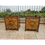 Image of French Anduze Garden Planters - A Pair