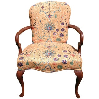 Queen Anne Mahogany Chair by Hickory
