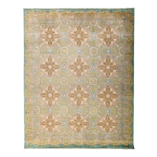 """New Hand-Knotted Rug - 9'2"""" x 11'5"""""""