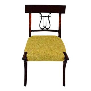 Antique Klismos Mahogany Chair