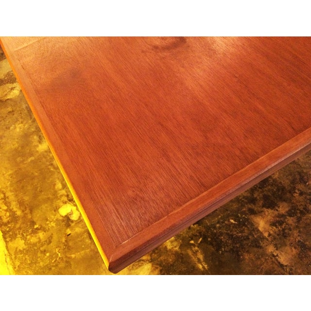 Vintage French Art Deco Bistro Dining Table - Image 5 of 8