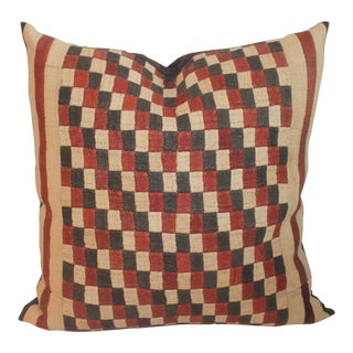 African Tribal Cuba Cloth Pillow