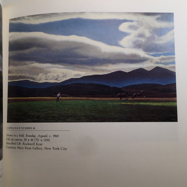 1985 The Paintings of Rockwell Kent Book - Image 8 of 11