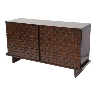 An Amercan Modern Dark Walnut Chest of Drawers, Paul Laszlo