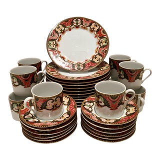 1960's Georges Briard Imari Dessert Set - 36 Pieces