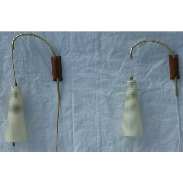 Mid-Century Counterweight Wall Sconces - A Pair - Image 11 of 11