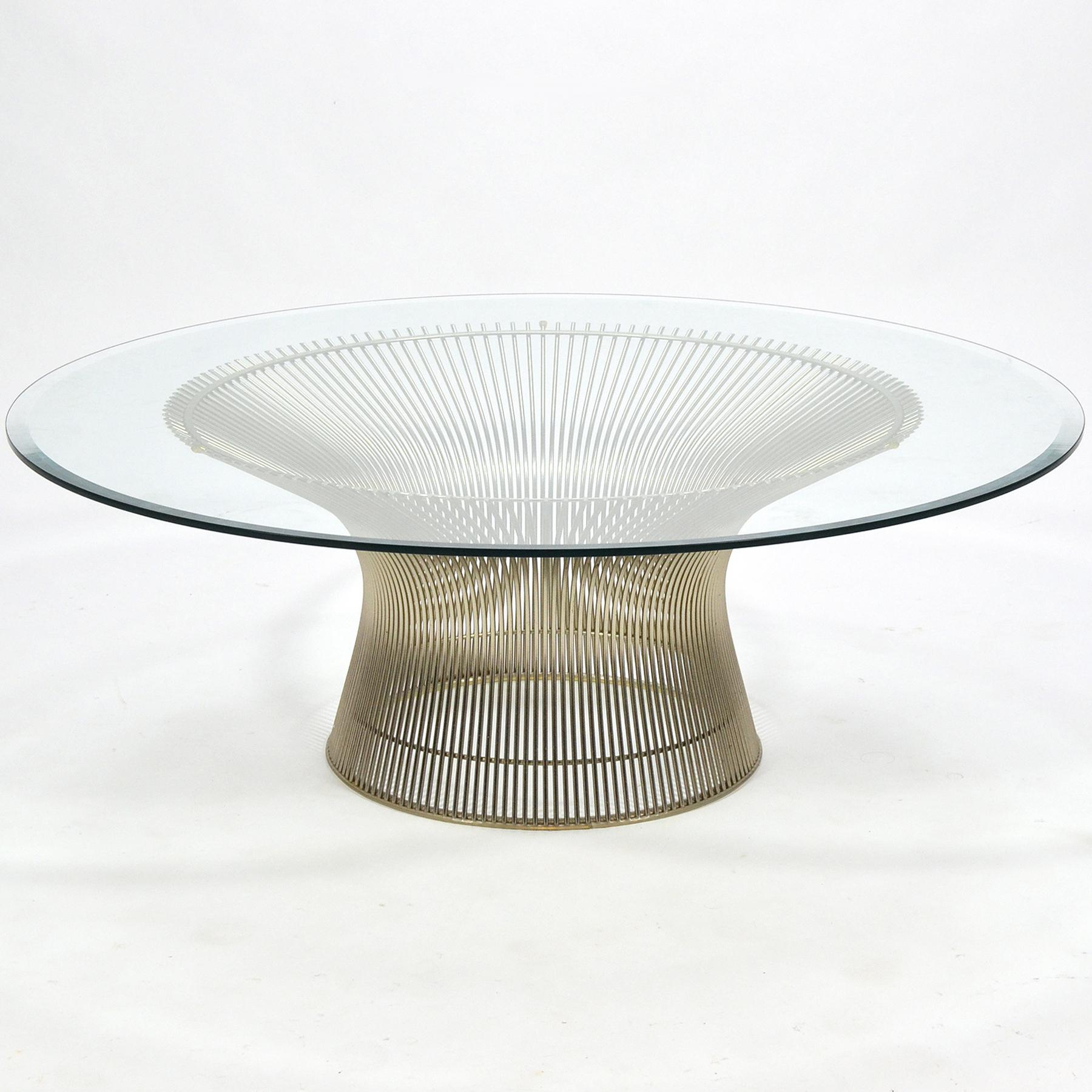 Warren Platner Coffee Table By Knoll   Image 1 Of 9