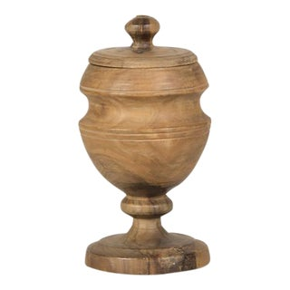 Lovely Walnut Urn from England c. 1900