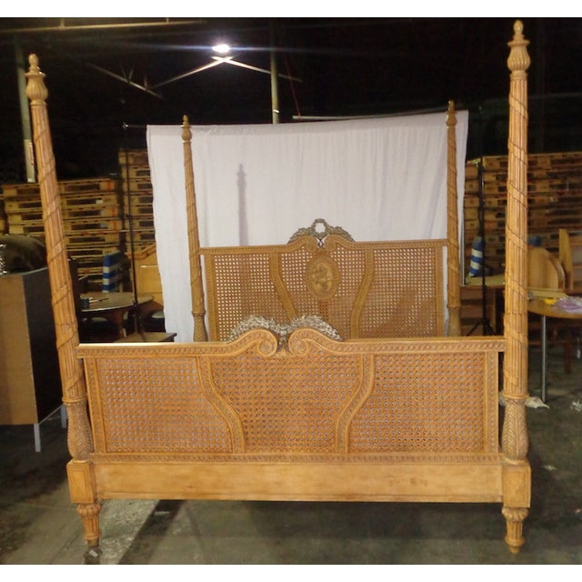 drexel plantation style king bed chairish