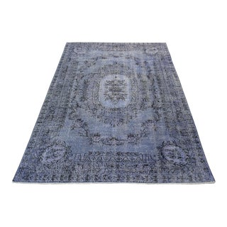 Turkish Overdyed Rug - 6′5″ × 9′9″