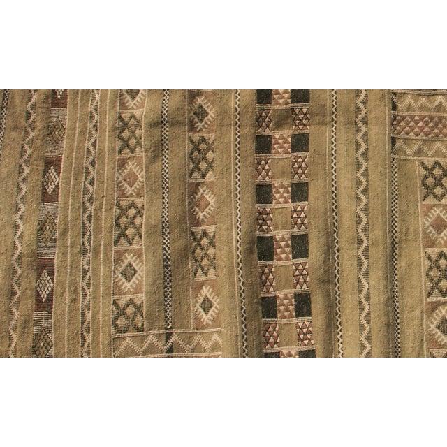 "Moroccan Berber Tribal Kilim Rug - 4' 8"" X 7' 4"""