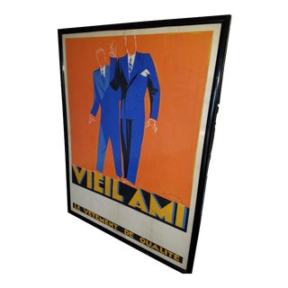Maurus Vintage French Mens Apparel Poster