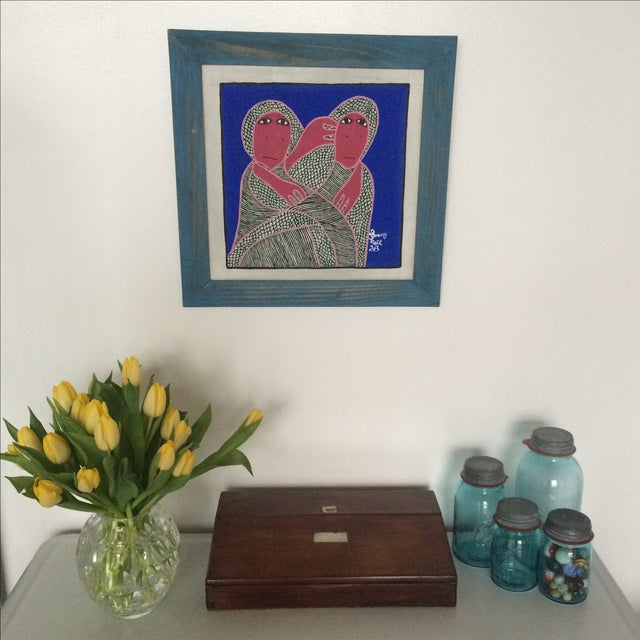Framed Painting by Levoy Exil - Image 3 of 8