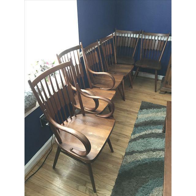 Drexel Declaration Kipp Stewart Dining Chairs - Set of 6 - Image 2 of 7