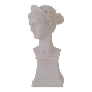 Marble Goddess Bust