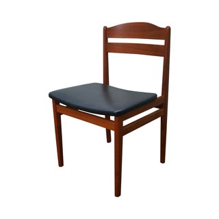 Vintage Danish Modern Teak Side Chair