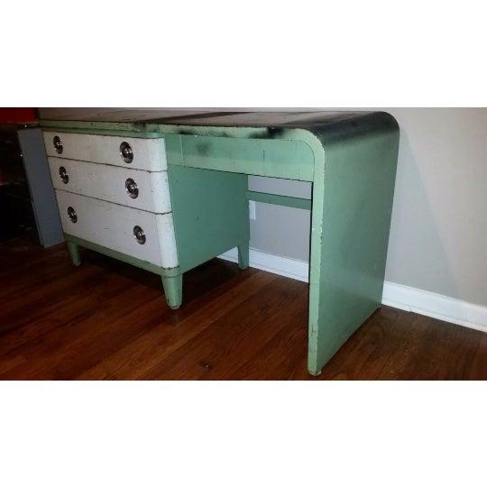Simmons Furniture Steel Dresser Norman Bel Geddes Chairish