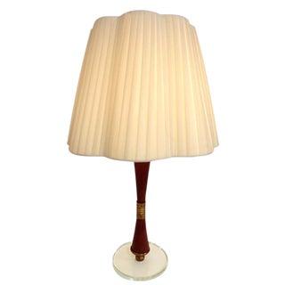 Fontana Arte Single Modernist Table Lamp Italy circa 1958