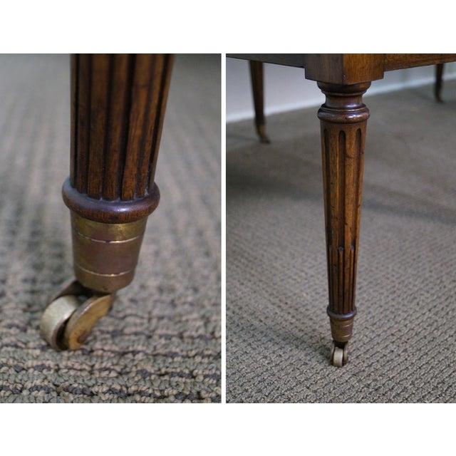 Image of Custom Mahogany Leather Top George Washington Desk