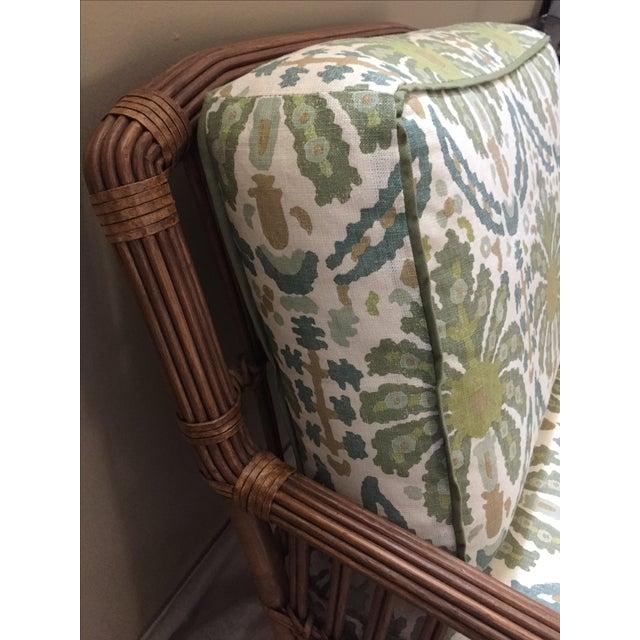 Modern Rattan Lounge Chair - Image 6 of 8