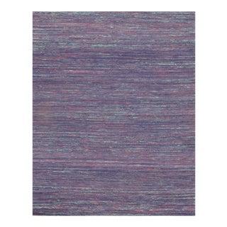 Pasargad N Y Sari-Silk Modern Flat Weave Rug - 9' X 12'