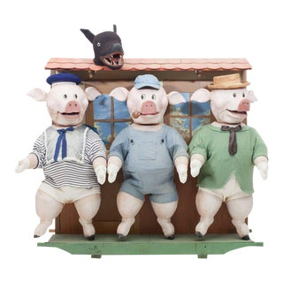 Three Little Pigs Puppetry