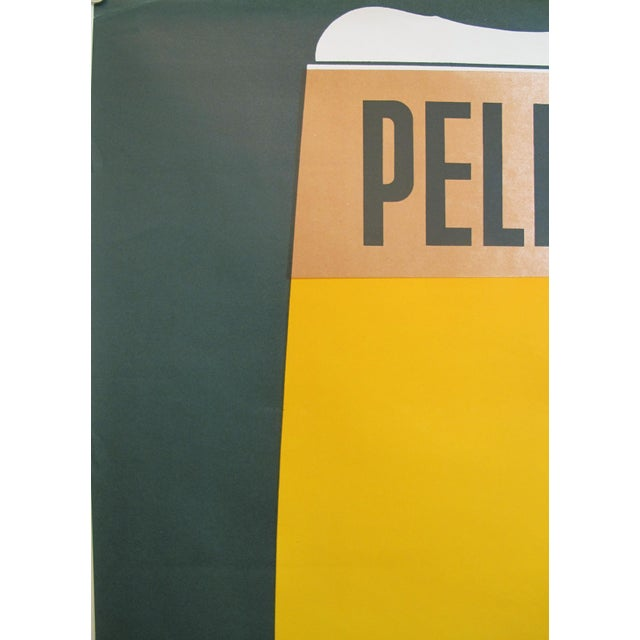 1960s French Vintage Pelforth Beer Poster - Image 5 of 5