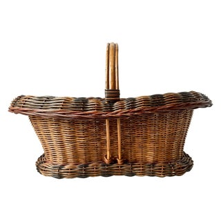Victorian Handled Basket