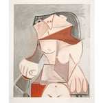 """Image of Pablo Picasso, """"Femme Nue Assise,"""" Lithograph"""