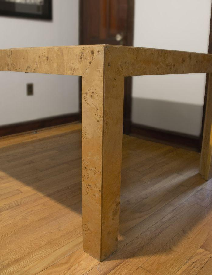 Thomasville Burl Wood Parsons Expandable Dining Table   Image 3 Of 7 Part 49