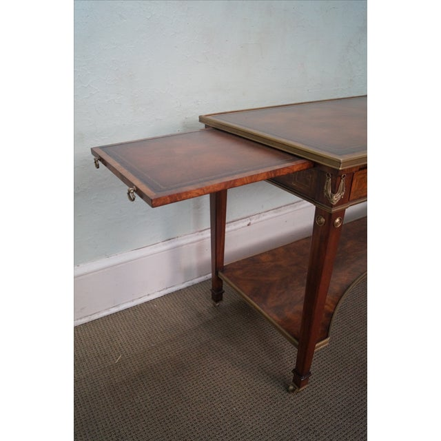 Theodore Alexander Regency Console Table - Image 7 of 8