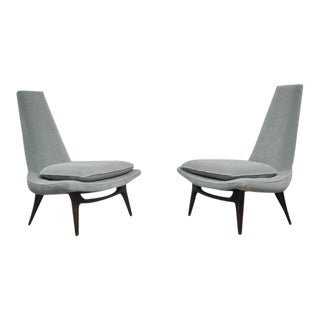 Karpen High Back Lounge Chairs
