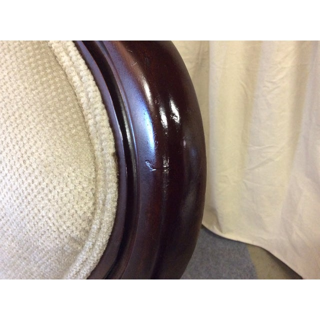 Wooden Victorian Chairs - Pair - Image 9 of 11