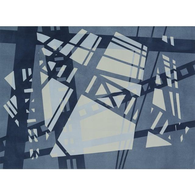 Image of Monoprint - High Line View I