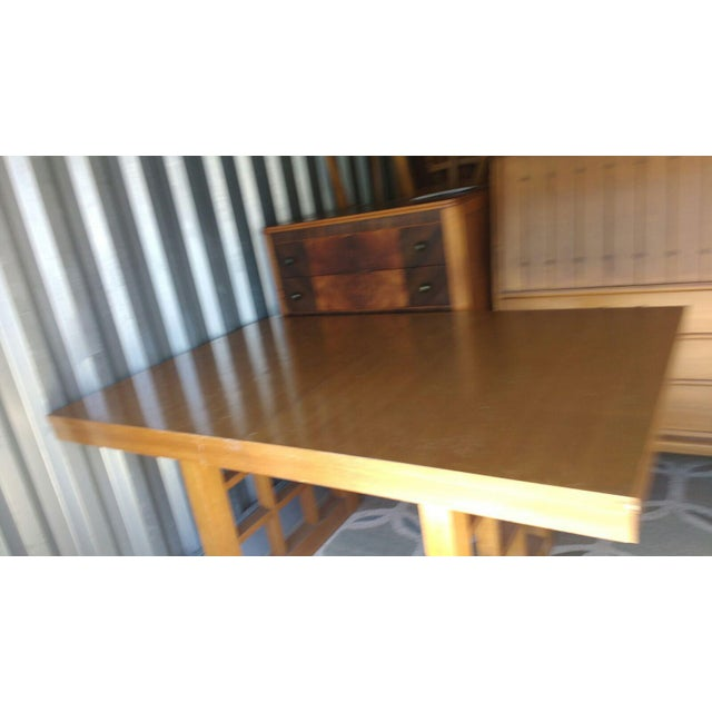 Mid-Century Walnut Dining Table - Image 4 of 5