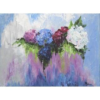 Hydrangea Row-Floral by Celeste Plowden