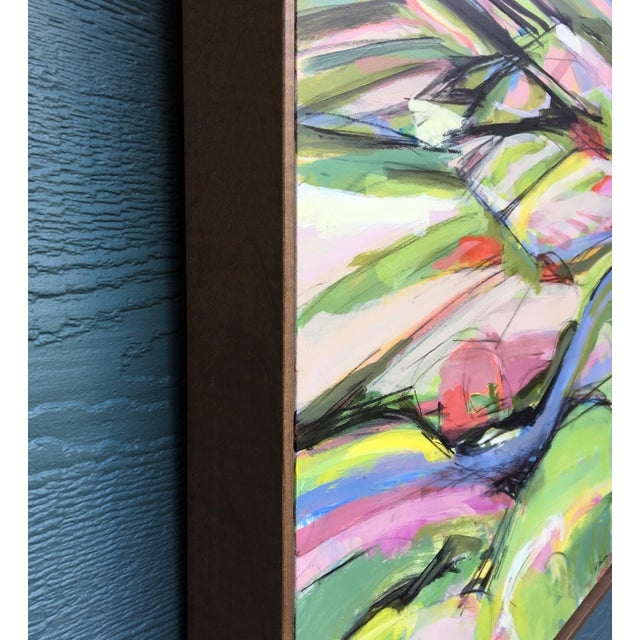 Onion Road III - Spring Acrylic Painting - Image 5 of 5
