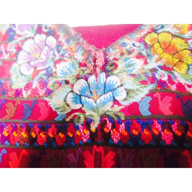 Guatemalan Fabric Boho Beach Textile - Image 7 of 10