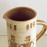Image of Fratelli Fanciullacci Gold Accented Pitcher