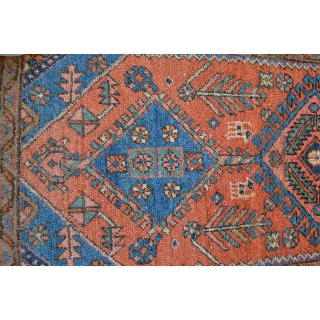 """Antique Persian Heriz Rug - 3' x 5'7"""" - Image 8 of 11"""