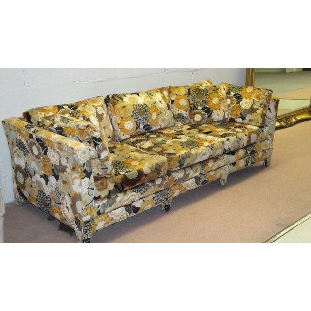 jack lenor larsen velvet sofa chairish. Black Bedroom Furniture Sets. Home Design Ideas