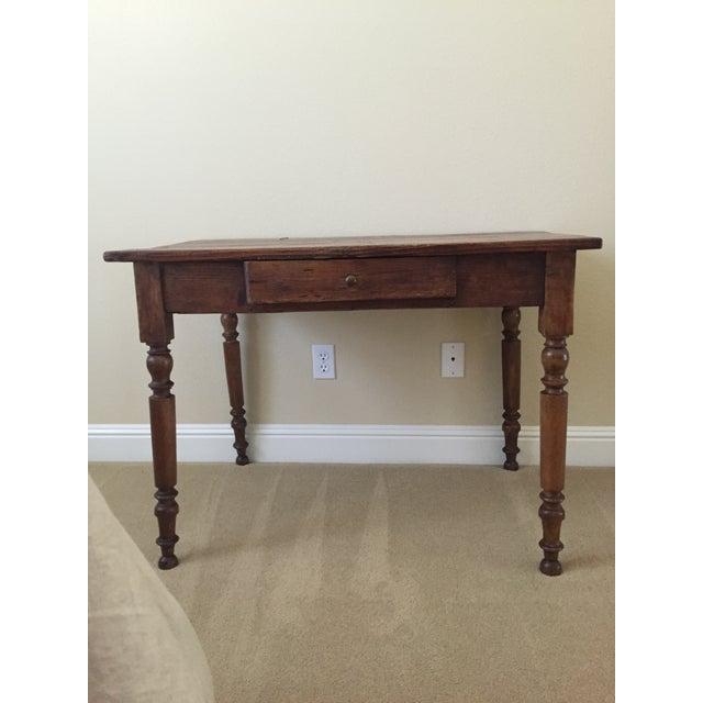Image of Vintage Wood Table/Desk
