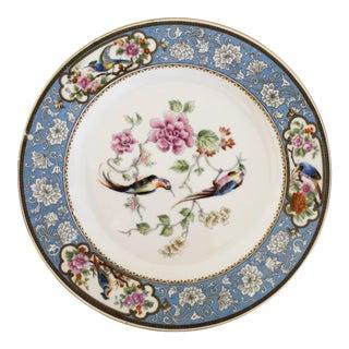Vintage Hutschenreuther Ornithological/Bird Bavarian Selb Porcelain Luncheon Plate