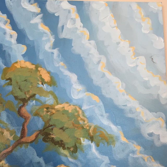 """Sugar Oak"" Acrylic on Canvas - Image 5 of 8"