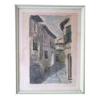 Original Watercolor & Ink Painting
