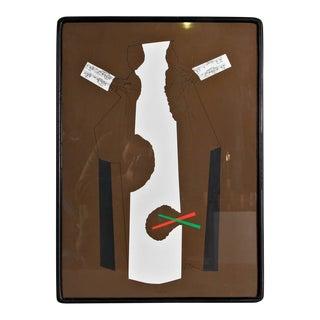 Bruno Munari Screen Print Hand Signed, 1984
