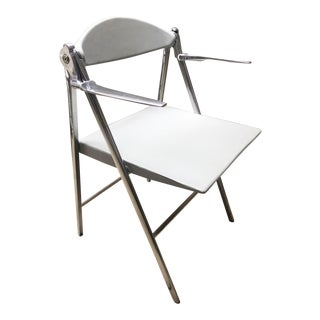 Poltrona Frau Donald Folding Chair With Arms
