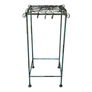 Contemporary Metal Plant Stand