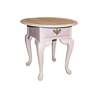 Painted Oak Side Table