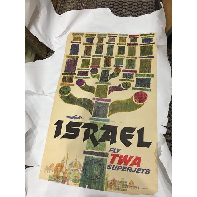 1960 David Klein 'TWA Israel' Poster - Image 3 of 9